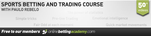 Sport betting course with Paulo Rebelo