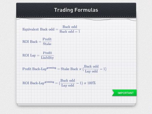 betting formulas