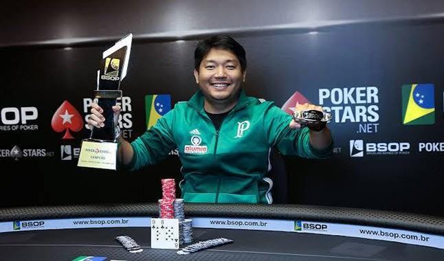 Entrevista com Luis Kamei, campeão dos dois maiores eventos de Poker do Brasil