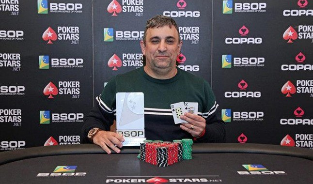 Interview with Marcelo Mesqueu, number one of the BSOP general ranking