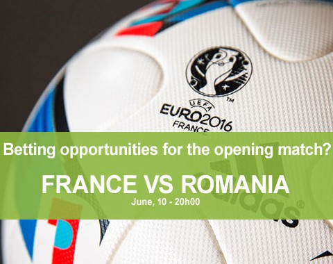 Opportunities to Bet on the Euro 2016 opening match