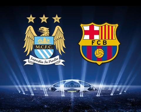 Manchester City v Barcelona - Oferta de Aposta Ao-Vivo com a bet365