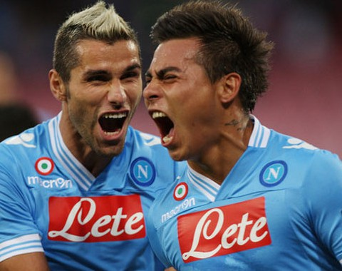 Análise do jogo da Liga Europa: Nápoles vs Sparta Praga (18 Setembro 2014)