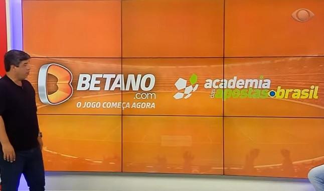 Academia das Apostas e Betano no programa Donos da Bola