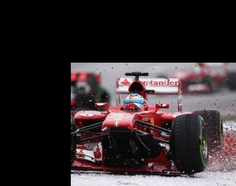 GP da China: Alonso e Ferrari em sintonia