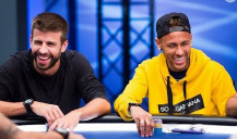 Atletas do futebol no mundo do Poker