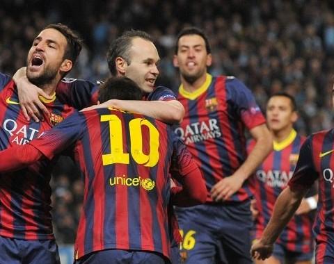 Ganha 3 vezes mais se o Barcelona vencer o Manchester City