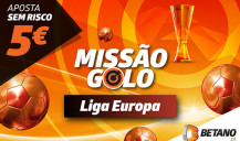 Ganha com SuperOdds na Missão Sem Risco Liga Europa