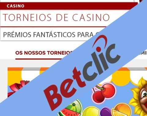 Betclic: Torneios de Casino