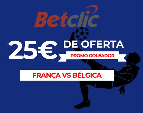 Ganhos duplos no França vs Bélgica