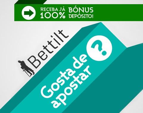Bettilt: bónus de 1º depósito até 100€ e outras ofertas