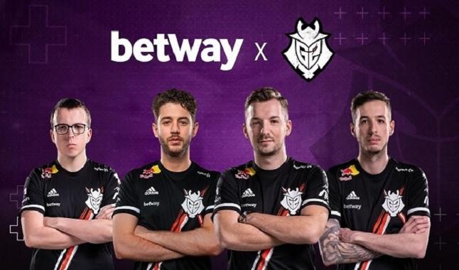 Betway apresenta patrocínio com G2 Esports