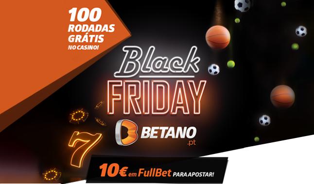 Black Friday Betano! Uma super oferta nesta sexta-feira!