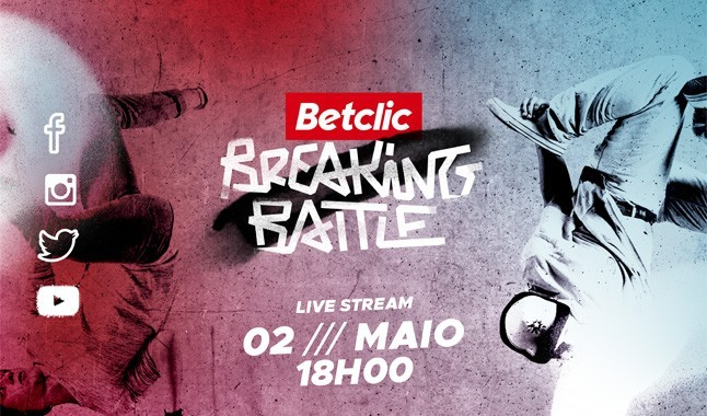 Betclic Breaking Battle - breakdance em live streaming