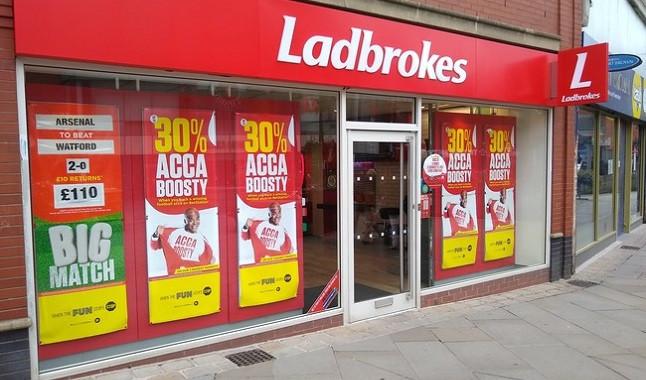 Ladbrokes bookmaker receives ad warning