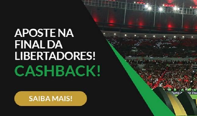 River Plate vs Flamengo na Copa Libertadores da América 100% Cashback