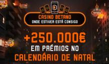 Natal no Casino Betano com mais de 250.000€