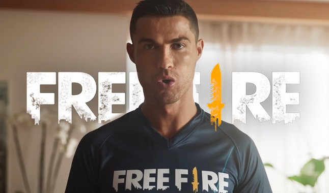 Cristiano Ronaldo arrives at Free Fire this Saturday