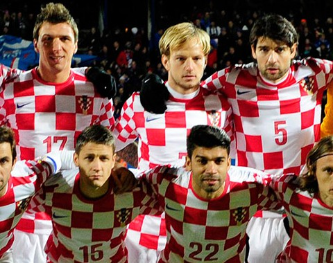 A Croácia de Luka Modric, Ivan Rakitic e Mario Mandzukic