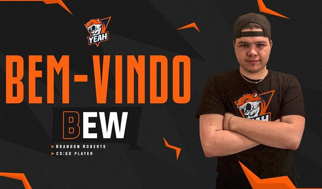 "CS:GO: ""bew"" is hired by Yeah Gaming"