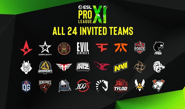 CS: GO: ESL announces Pro League Season 13 teams