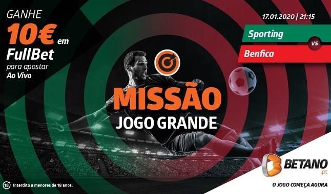 10€ de oferta para o Sporting Benfica