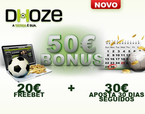 Nova época de futebol, novo bónus de boas-vindas na Dhoze!