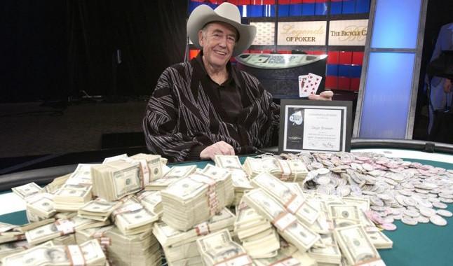 Doyle Brunson chooses the four best poker players