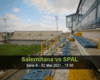 Salernitana SPAL betting prediction (02 March 2021)