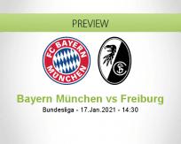 Bayern München vs Freiburg