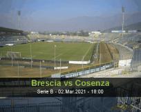 Brescia Cosenza betting prediction (02 March 2021)
