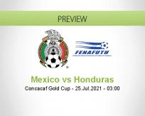 Mexico vs Honduras