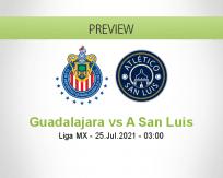 Guadalajara vs A San Luis
