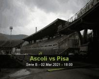 Ascoli Pisa betting prediction (02 March 2021)