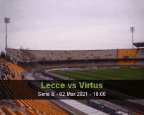 Lecce Virtus betting prediction (02 March 2021)