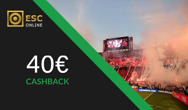 River Plate vs Boca Juniors - Cashback