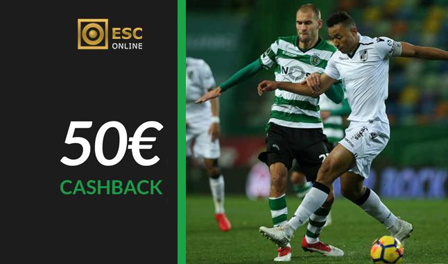 Freebet de 50€ - Liga NOS