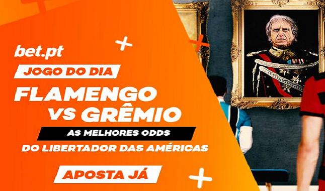 Livestream da Libertadores - Flamengo vs Grêmio