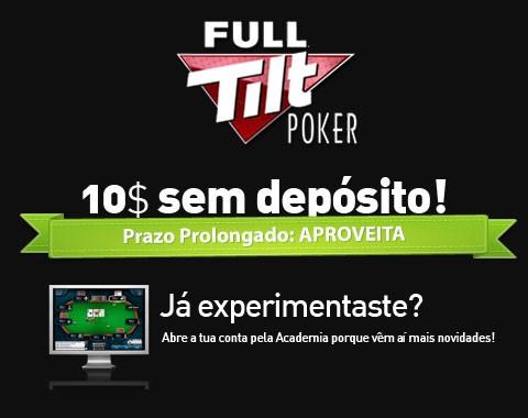 Saldo gratuito na Full Tilt Poker para novos clientes