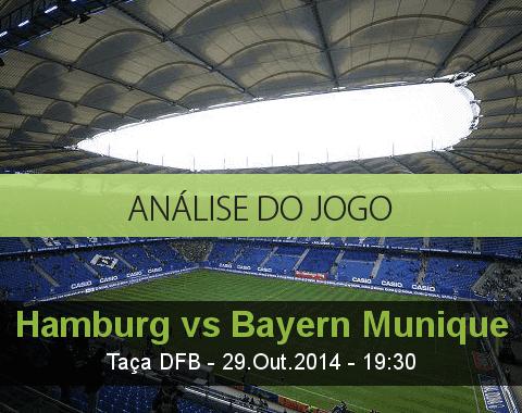 Análise do jogo: Hamburger SV vs Bayern de Munique (29 Outubro 2014)