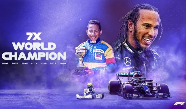 Hamilton entra para lista histórica na F1