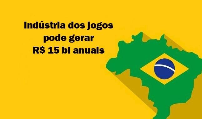 Indústria dos jogos no Brasil pode gerar 15 mil milhões de reais