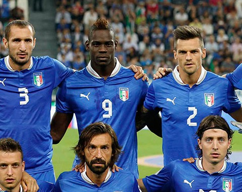 Análise à Seleção Italiana de Pirlo, Thiago Motta e Balotelli para o Mundial 2014