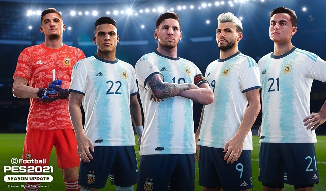 Konami signs agreement and will have Argentina licensed in PES