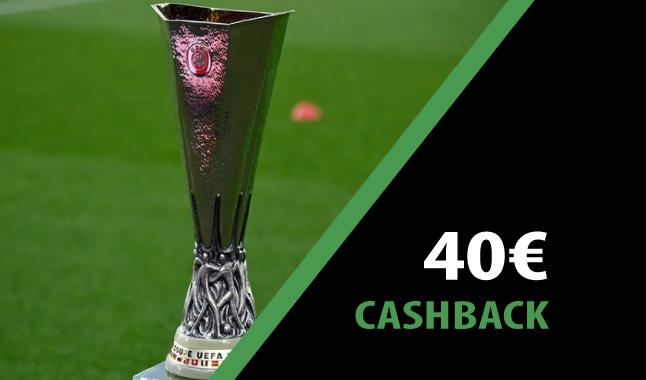 Ganha 40€ na Liga Europa