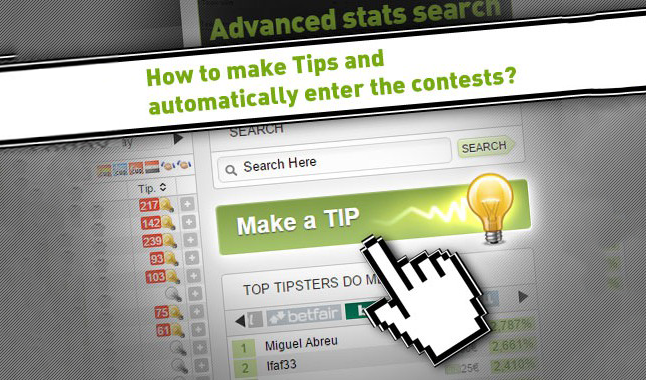 How to make Tips and enter the contests?