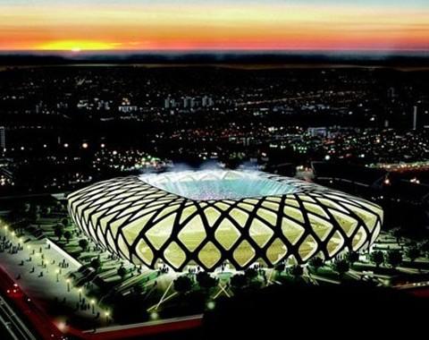 Arena Amazónia, Manaus - Estádios do Mundial Brasil 2014