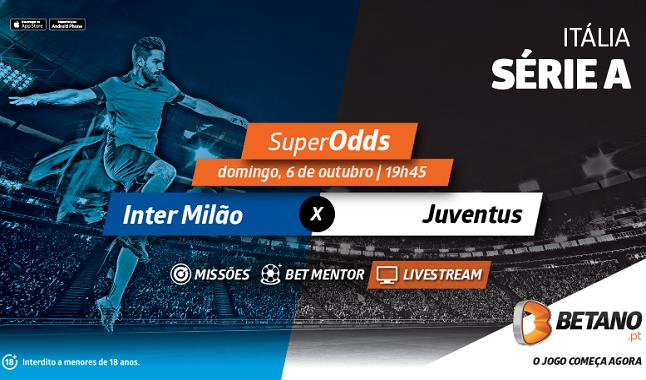 Inter Milão-Juventus: Conte para quebrar domínio da equipa de CR7