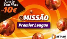 Apostas Sem Risco Premier League aos sábados