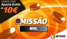 Aposta no NHL Hóquei no Gelo e ganha Aposta Grátis